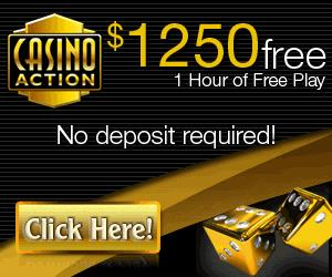 Casino Action - $1250 Free Play