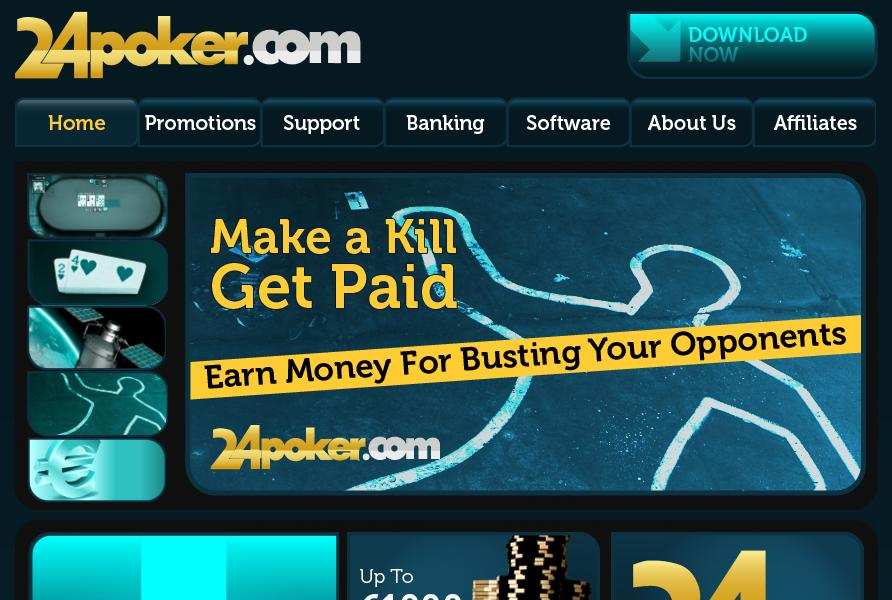24poker.com website screenshot