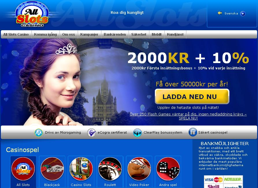 Swedish All Slots Casino