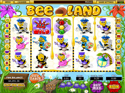 Bee Land New Slot Game