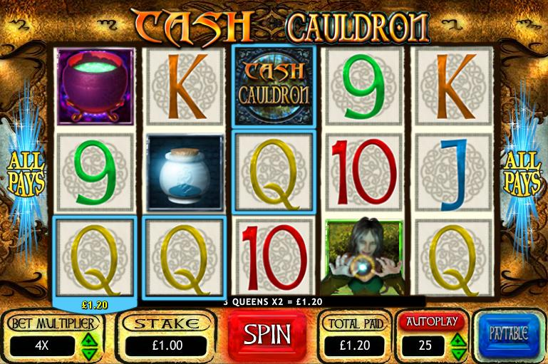 Cash Cauldron New Slot Game
