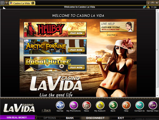 New Games Casino La Vida