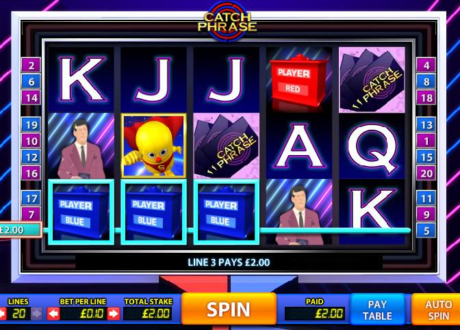 Catch Phrase New Slot Game