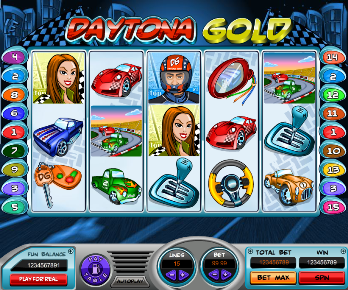 Daytona Gold Slot at Rome Casino