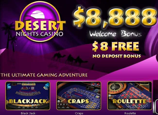 Desert Nights Casino Realtime Gaming
