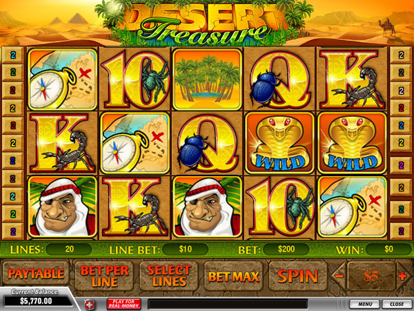 Big Win Desert Treasure slot