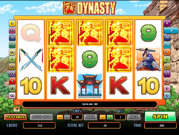 Dynasty Slot Game Virgin