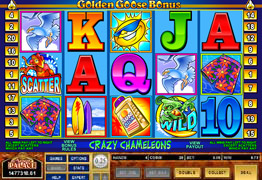 Crazy Chameleons video slot screenshot