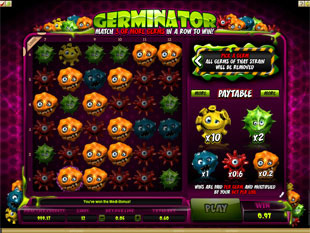 Germinator Slot Virgin Casino