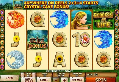 Goddess of Life New Slot Game