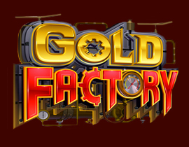 Gold Factory Slot Logo