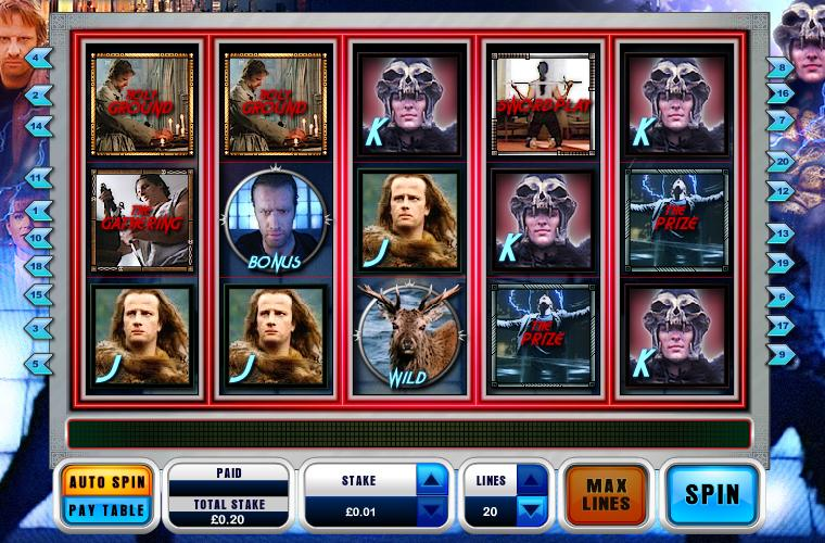 Highlander New Online Slot Game