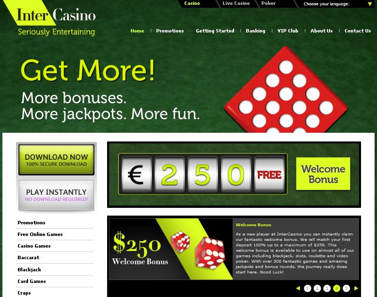 Halloween Online Promotion at InterCasino