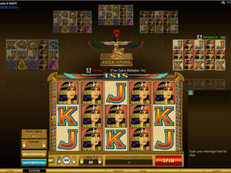 Isis Multiplayer new Online Slot Game