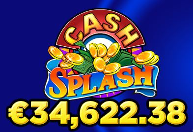 Cash Splash Jackpot Won
