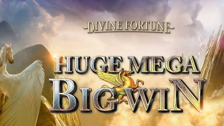 Divine Fortune Huge Jackpot Win