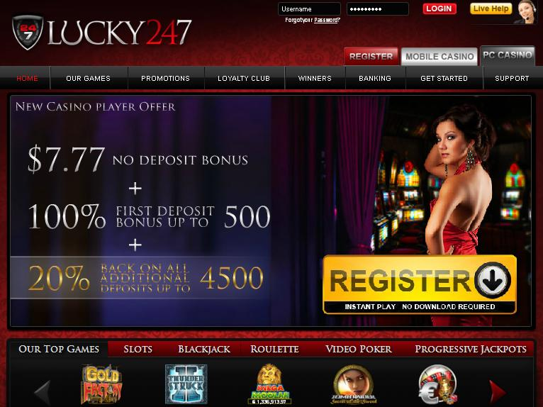 Lucky 247 Microgaming