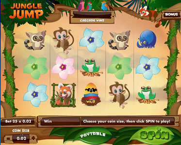 Jungle Jump new slot game