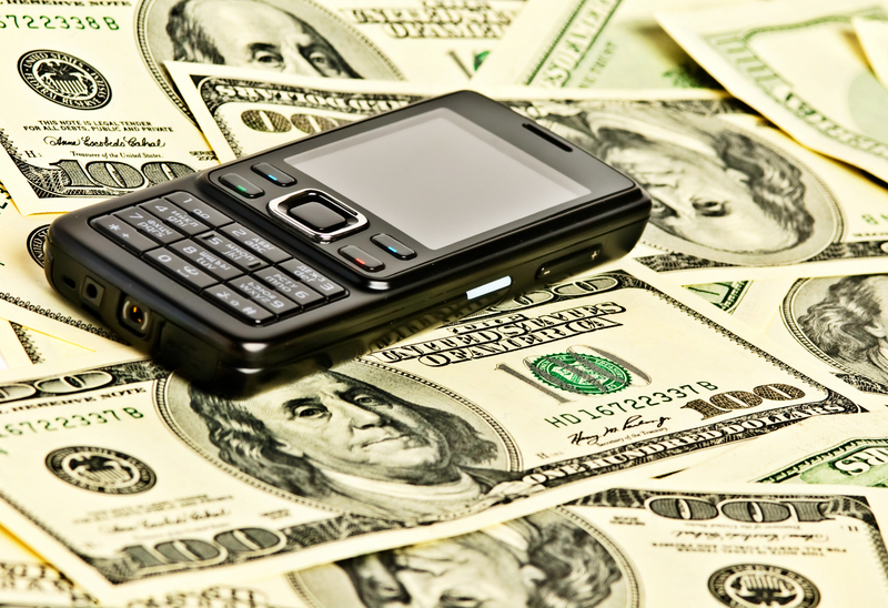 money, mobile phone