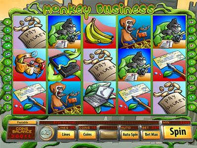 Monkey Business New Slot Game