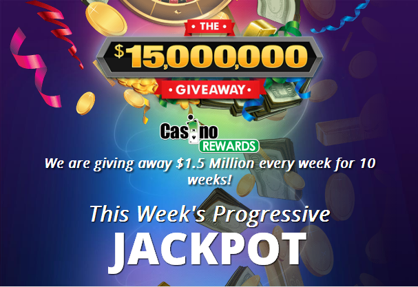 Casino Rewards 10 Week Giveaway