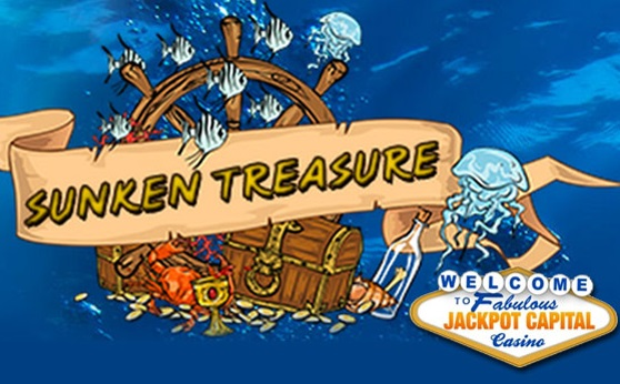 Jackpot Capital Casino Sunken Treasure Promotion