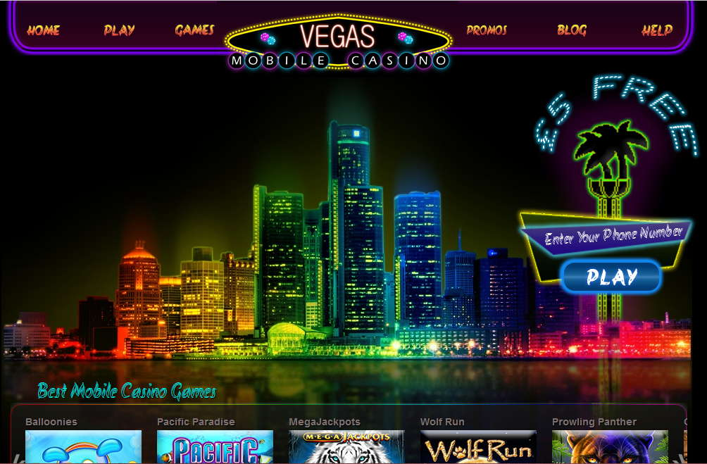 Vegas Mobile Casino Promotion