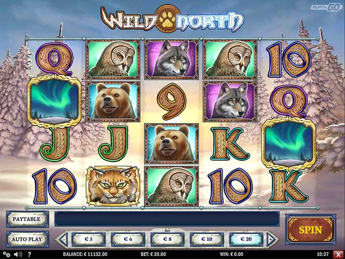 Wild North Slot Game