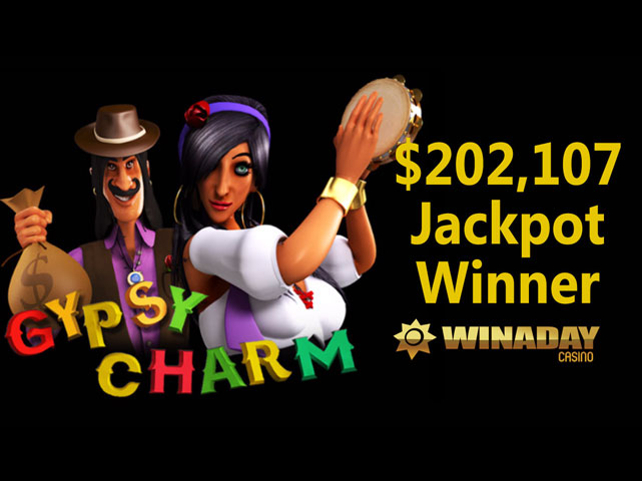 Win A Day Casino Gypsy Charm Jackpot