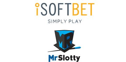 iSoftBet Content Deal MrSlotty