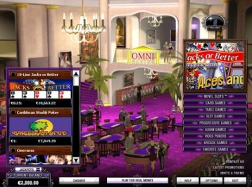 Omni Casino Multi Level Slot Tournament