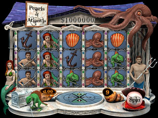 Pearls of Atlantis Slot Game at Slotland Online Casino
