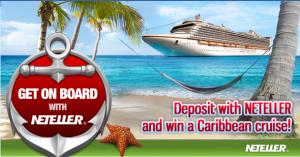 Platinum Play, Neteller, Caribbean Cruise Promotion