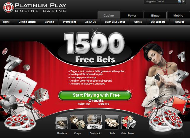 Platinum Play Bank Job Casino Promotion