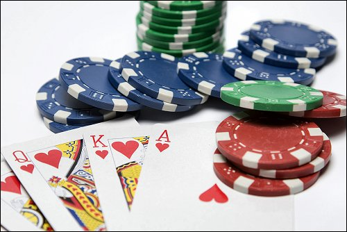 Poker Chips Cards image