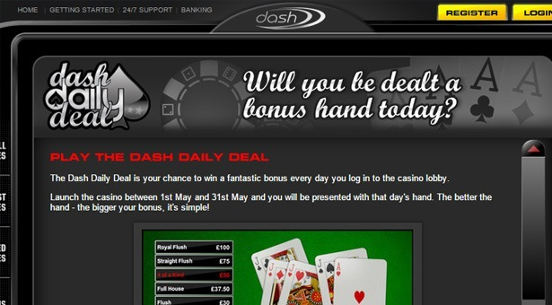 Daily Deal Dash Casino