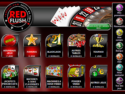 Red Flush Casino Slots Promotion