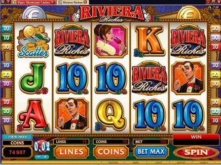 New Slot Game: Riviera Riches