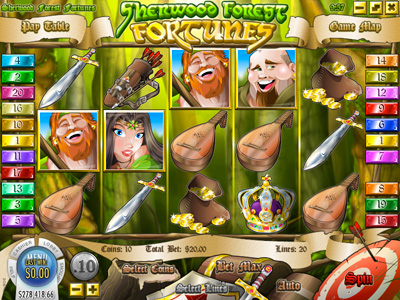 Sherwwod Forest Fortunes New Online i-Slot Game