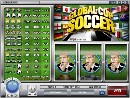 Global Cup Soccer new online slot