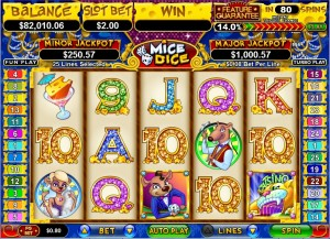 Mice Dice Video Slot