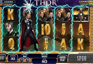 Thor New  Video  Slot Game