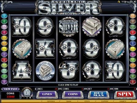 Sterling Silver Slot screenshot