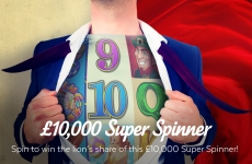 Super Spinner Promotion 32Red Casino