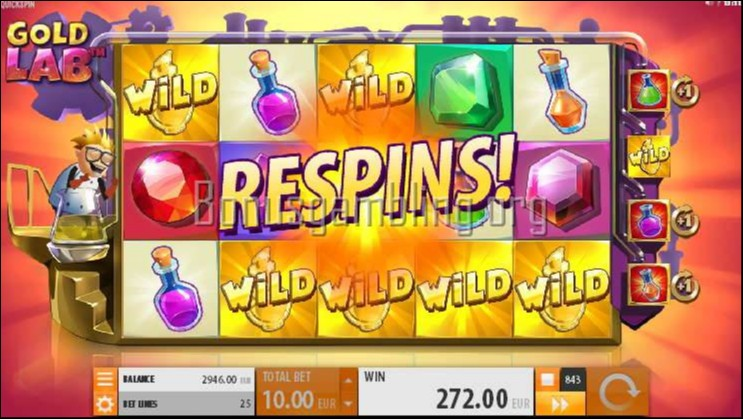 Gold Lab - New Video Slot