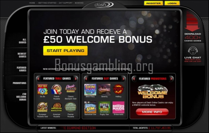 Dash Casino Review – Is this A Scam/Site to Avoid
