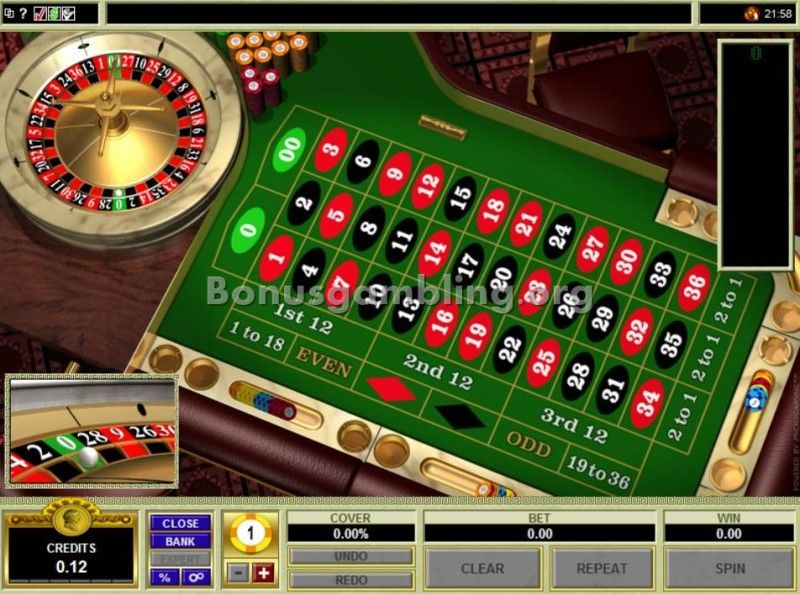American Roulette Microgaming Image