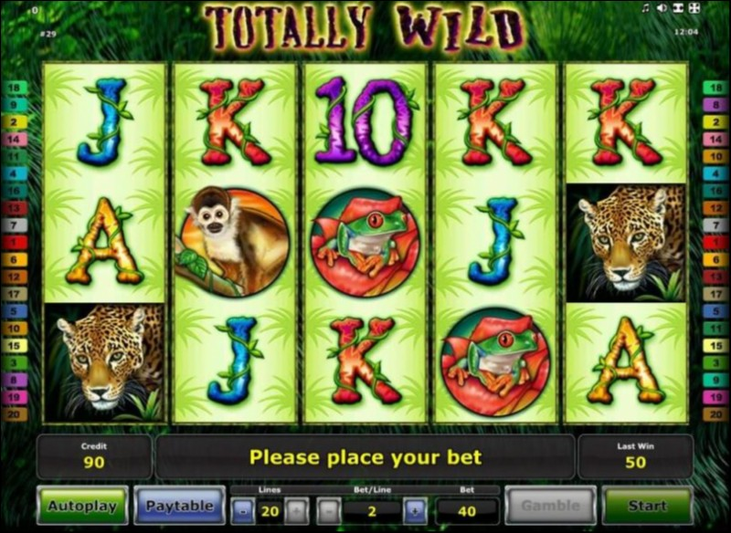 Totally Wild Slot Game