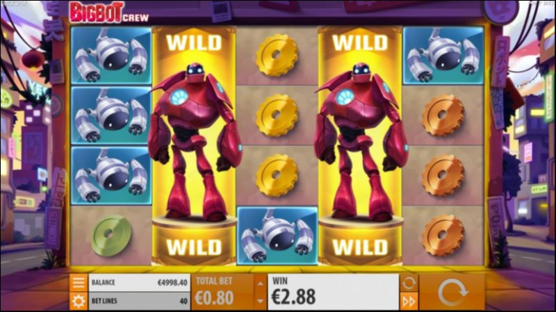 BigBot Crew Video Slot