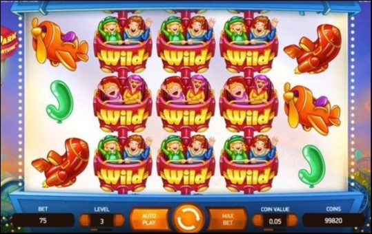 Theme Park: Tickets of Fortune slot Screenshot